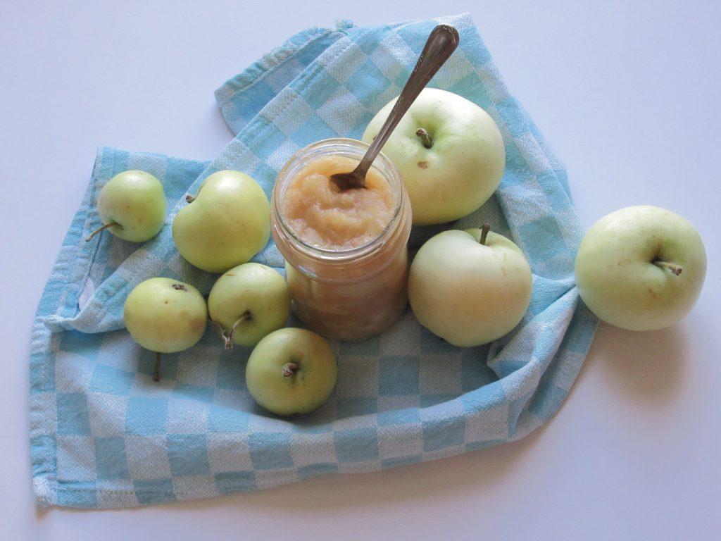 domowy mus jabłkowy 4