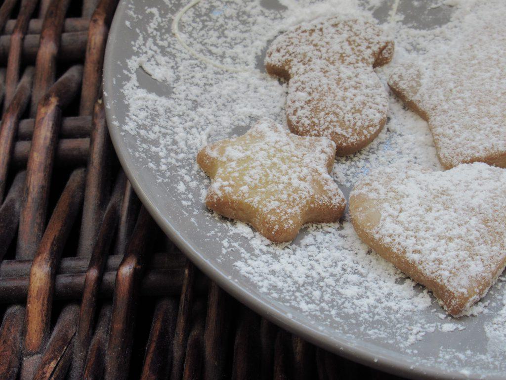 świąteczne maślane ciasteczka