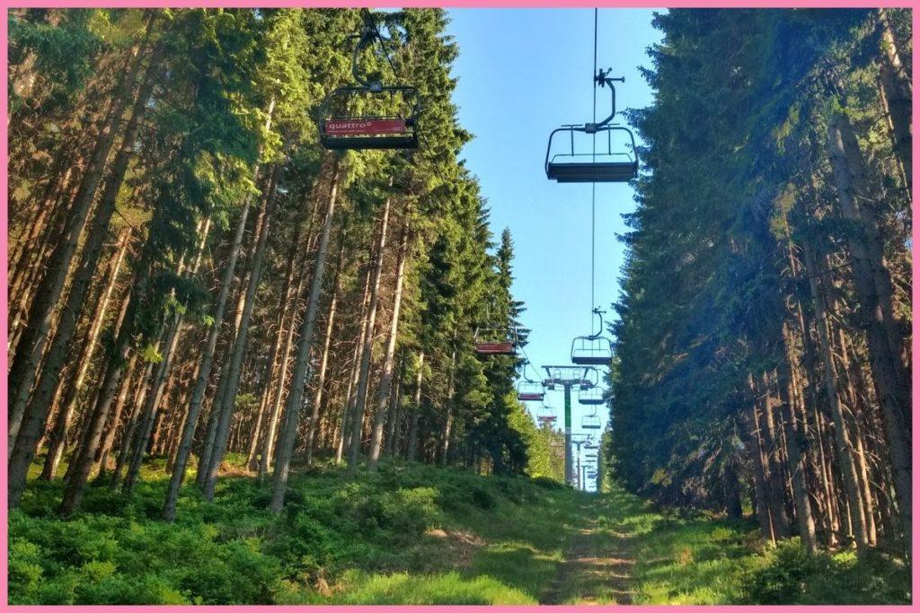 górskie szlaki Czechy Szpindlerowy Młyn