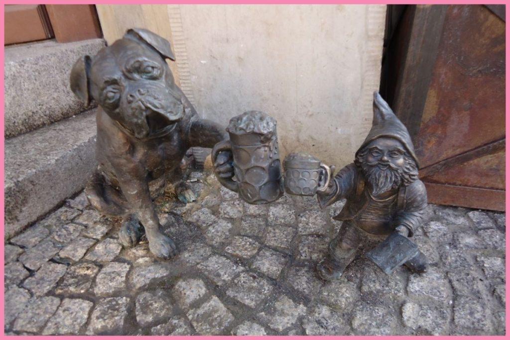krasnale na Starym Rynku we Wrocławiu