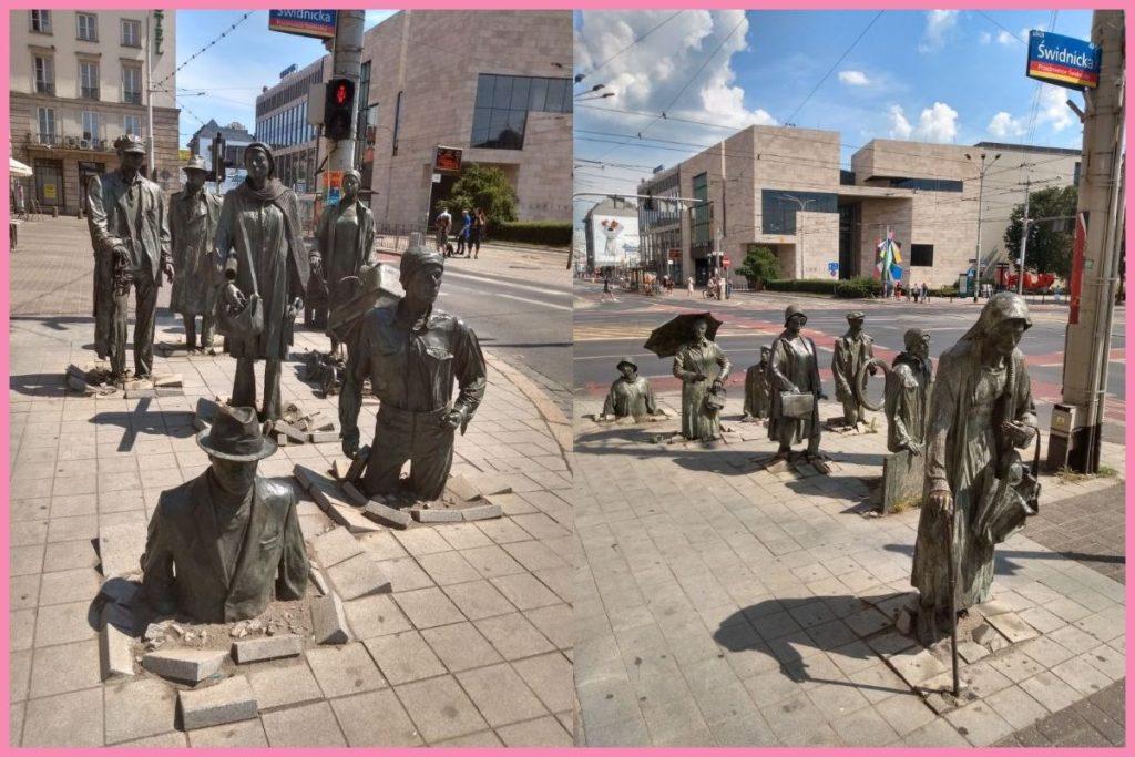 Wrocław Pomnik Anonimowego Przechodnia