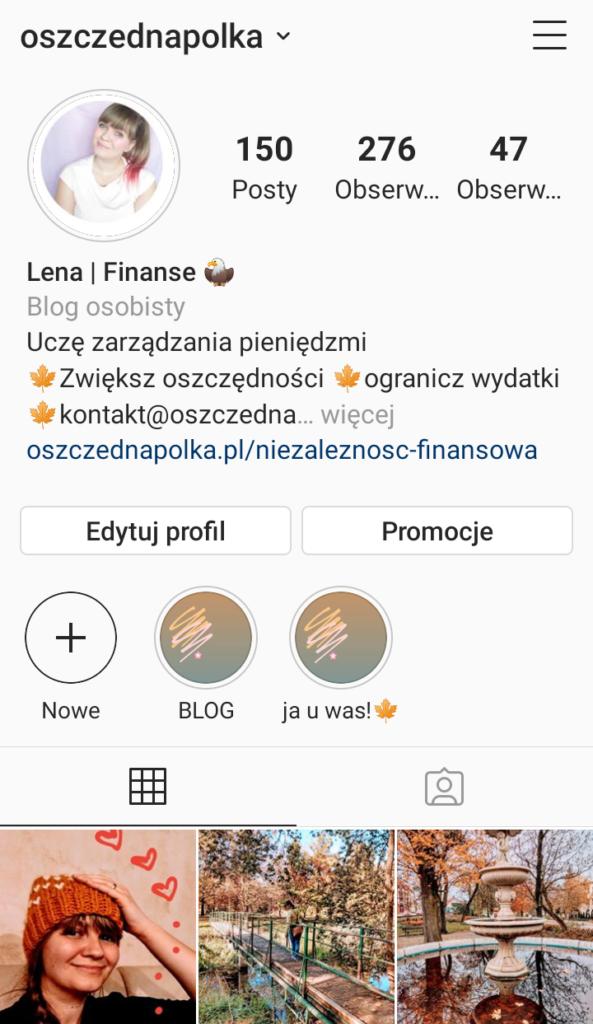 Instagram oszczednapolka